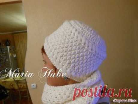 HAT FOR the LADY (Knitting by a hook) — the Inspiration of the Needlewoman Magazine
