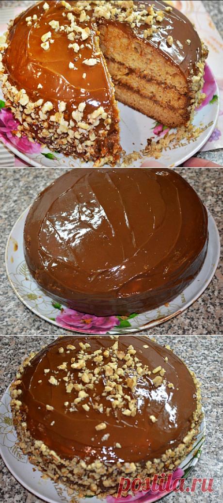 Торт «Аленка» со сгущенкой в мультиварке - Вкусный день