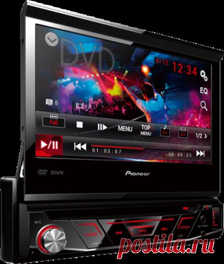 Магнитола с монитором Pioneer DVD это качественный, стильный и многофункциональный девайс, который делает процесс вождения максимально комфортным и не дает заскучать водителю и пассажирам в нудных пробках!