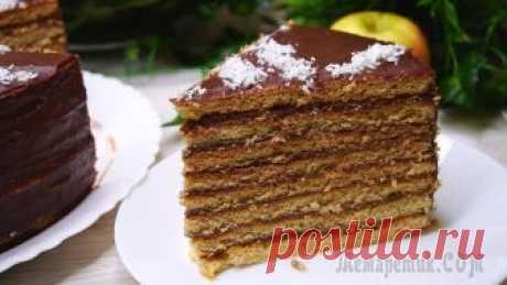 Шоколадно-медовый торт Шоколадно-Медовый торт. Один из самых любимых десертов в моей семье, пеку я его обычно по большим праздникам. Его потрясающий вкус трудно описать словами — это нужно пробовать! Яркий шоколадный вкус, ...