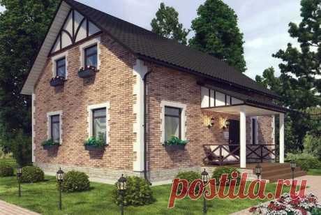 Общая площадь дома: 147,3 м².
