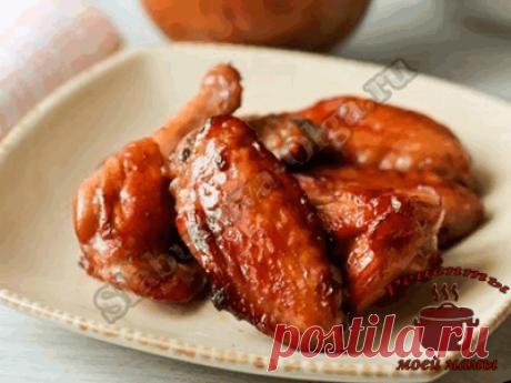 Вкусные куриные крылышки. Рецепт. Фото