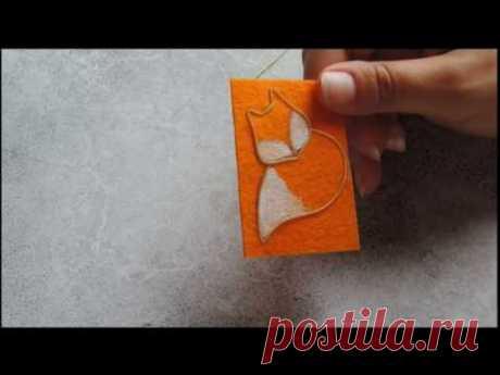 брошь Лисичка МК ч.1 для начинающих | вышивка бисером