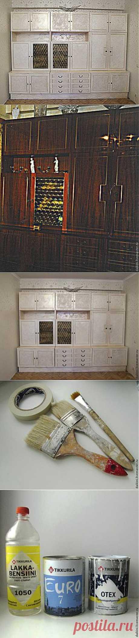 Как сделать старую мебель современной