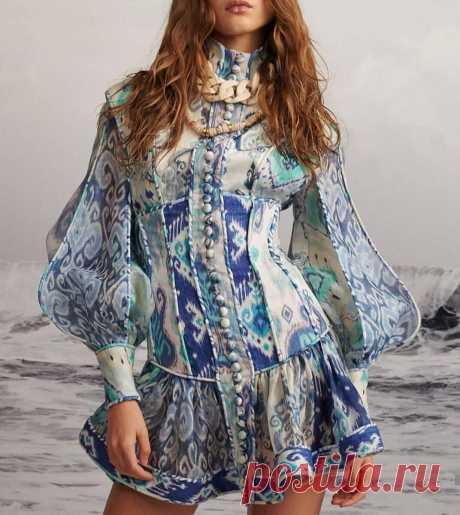 Выбираем шифоновое платье к лету. | Asha. Вязание и дизайн.🌶 | Яндекс Дзен