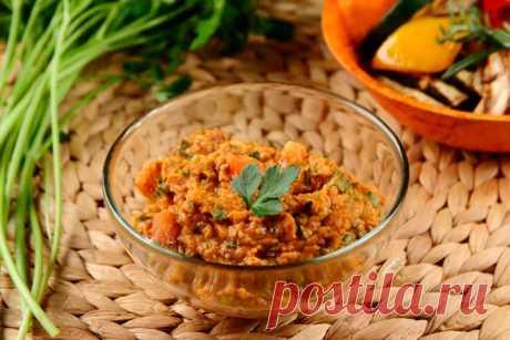 Вкусный соус из нута – пошаговый рецепт с фото.