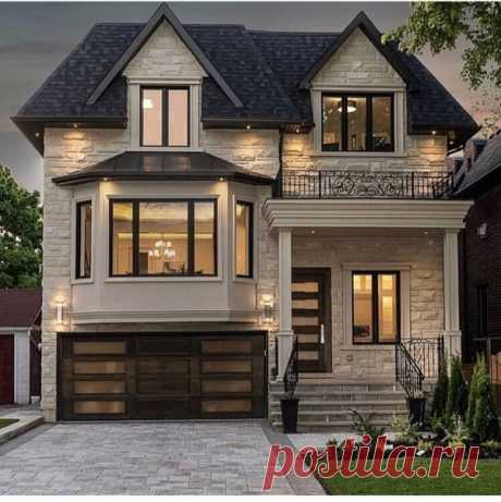 Хотели бы себе такой дом?