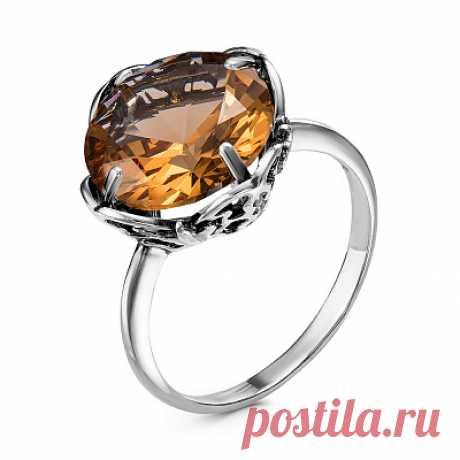 Кольцо 23811300-22 серебро, султанит иск., производитель Красная Пресня - купить в интернет-магазине Серебряная птица