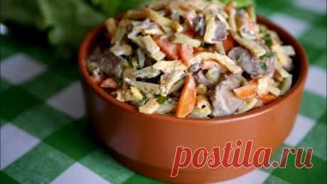 Салат из куриной печени рецепты приготовления