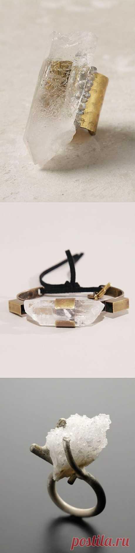 Украшения с необработанными кристаллами (трафик) / Ювелирные украшения / Модный сайт о стильной переделке одежды и интерьера