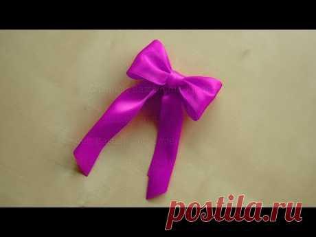 Schleife binden zum Geschenke einpacken & dekorieren 🎀 Geschenkschleife basteln 🎁
