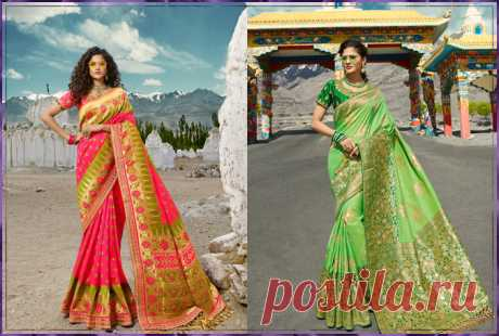 This is Indian Bridal Sarees. Visit my blog for more latest fashion.