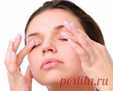 Массаж и комплекс упражнений для глаз