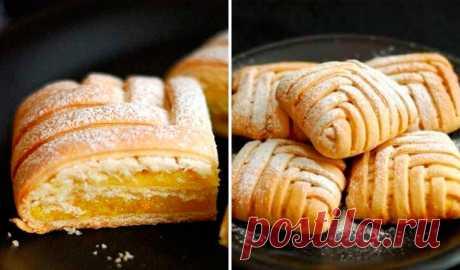 Итальянское ПЕСОЧНОЕ пирожное - восторг обеспечен! Божественно вкусно!