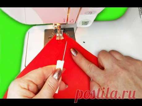 Швейные премудрости и хитрости, чтобы шить аккуратно и быстро/sewing tricks (подборка № 5)