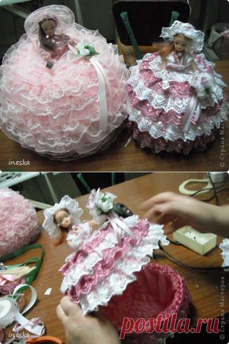Мои шкатулки Барби обещанный МК | Страна Мастеров