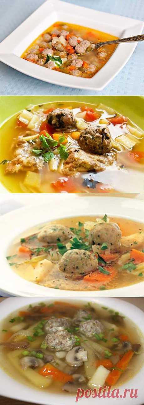 Суп с фрикадельками: варим самый аппетитный суп