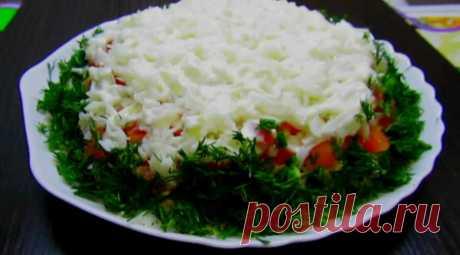Идеальное сочетание продуктов! Праздничный салат, который понравится всем
