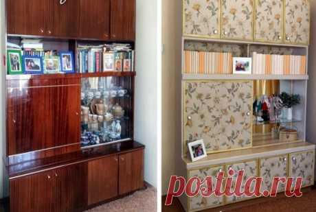 20 вдохновляющих примеров переделки старой советской мебели / Я - суперпупер