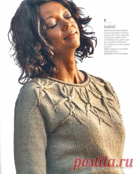 Пуловер Isabel от Norah Gaughan.