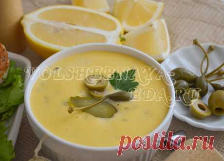 Соус Тартар, рецепт классический с пошаговыми фото