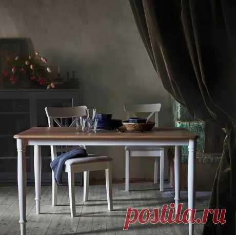 Дандэрюд – стол с эксцентричным названием от IKEA, непременно украсит вашу кухню - Я строю - медиаплатформа МирТесен