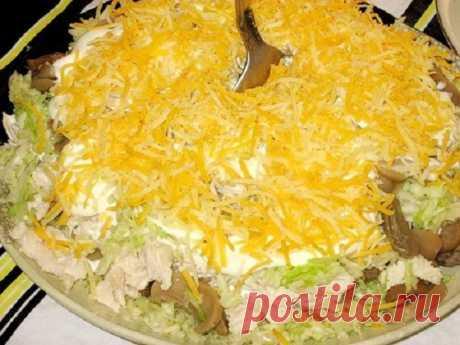 Обалденный салат «Княжий град» — еле выпросила рецепт у подруги! - Лучшие рецепты для Вас!