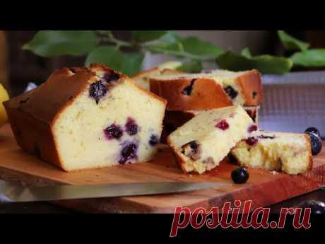 Blueberry Lemon Pound Cake with Yogurt - CUKit!
