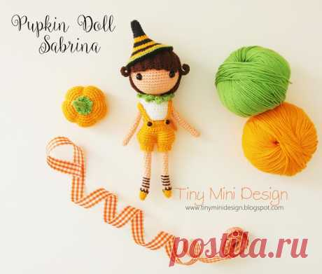 Ravelry: Amigurumi Zoe Doll pattern by Tiny Mini Design | 391x460