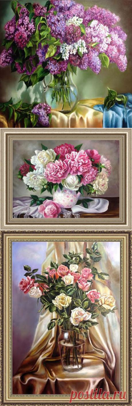 Прекрасная живопись Жанны Когай