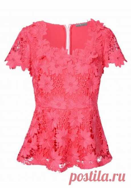 Блузка цвет: коралловый арт: 11198263 купить в Интернет магазине Quelle за 4399.00 руб - с доставкой по Москве и России