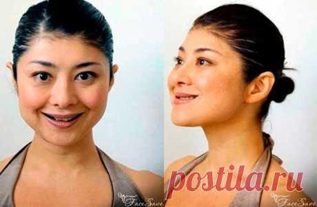Йога для лица Мамады Йошико: нижняя часть лица   FaceSave.ru   Яндекс Дзен