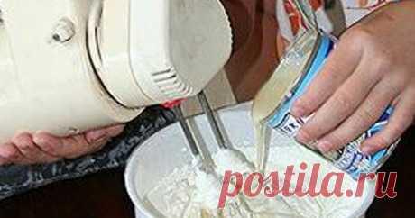 Мороженое Проще не бывает    Ингредиенты:   Сливки—200 мл.  Молоко сгущенное—200 мл.  Приготовление мороженого Проще не бывает: