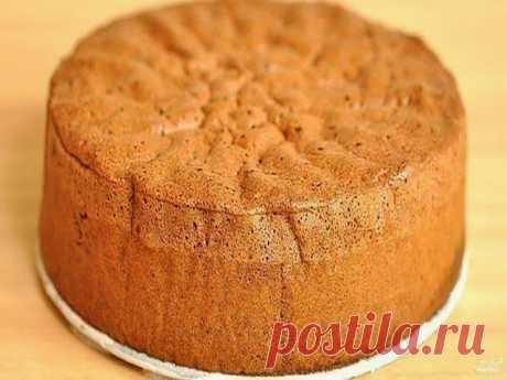 ¡BLANMANZHE - el POSTRE CASEOSO! Los ingredientes: estrechen a esta foto: ¡el Bizcocho, que cae nunca y no asienta!