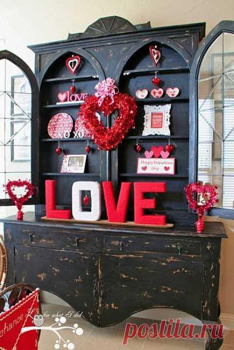 Как украсить интерьер ко Дню Святого Валентина? ~ ALL-DEKOR