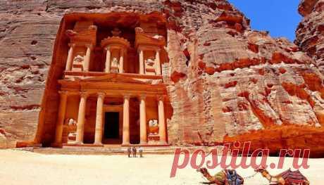 ПИЛИГРИМ: ПЕТРА — загадочный город пустыни
