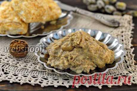 Заварной ореховый крем без масла рецепт с фото, как приготовить на Webspoon.ru