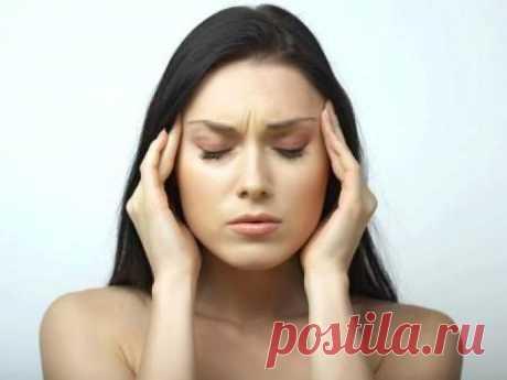 Рецепты народной медицины от головной боли / Будьте здоровы