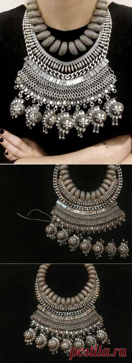 Ожерелье Dylanlex (DIY) / Украшения и бижутерия / Модный сайт о стильной переделке одежды и интерьера