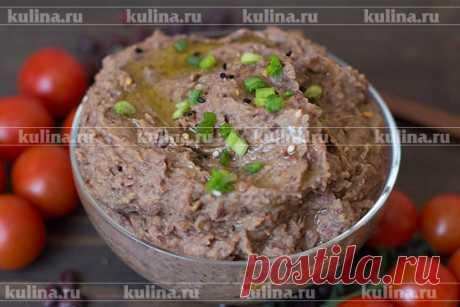 Паштет из фасоли – рецепт приготовления с фото от Kulina.Ru