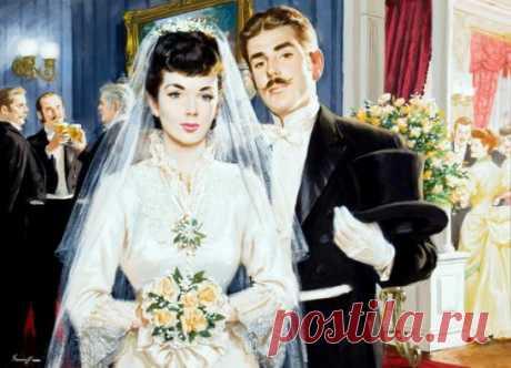 — Мы сами не очень-то знаем цену нашим подаркам. Лет сто назад далеко отсюда, в городе Париже, жил студент-музыкант, который очень любил девушку. Но эта девушка почему-то вышла замуж за его друга, и студент подарил им на свадьбу марш, который он написал перед венчанием в церкви Оноре Сен-Пре, — денег на другой подарок все равно у него не было...  — И что?  — Он преподнес подарок невестам всего мира.  — А как звали студента?  — Его звали Феликс Мендельсон-Бартольди... Аркадий Вайнер, Георгий Ва