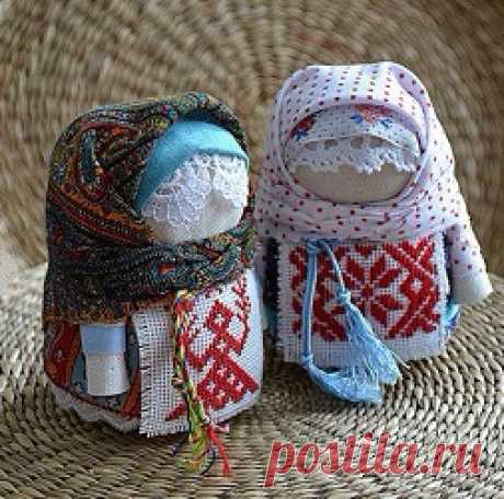Делаем куклу крупеничку - оберег и хранительница благополучия