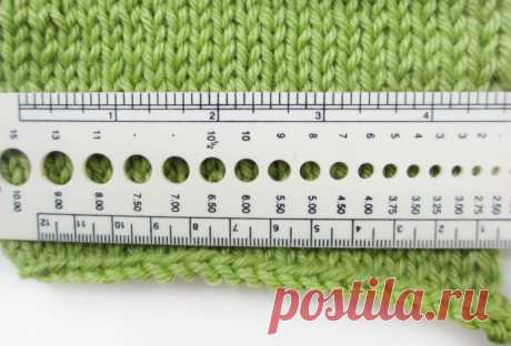 Самый точный метод расчета петель для вязания