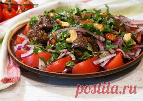 (3) Грузинский салат с печенью - пошаговый рецепт с фото. Автор рецепта Irina . - Cookpad