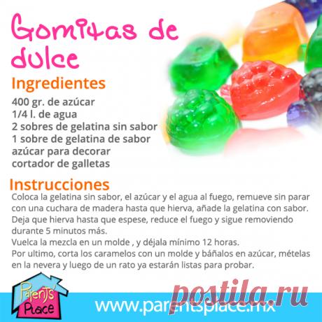 receta como hacer gomitas con gelatina - BúsquedadeGoogle