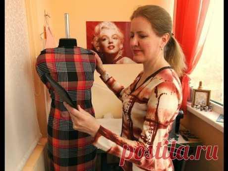 Выбор модели платья для пошива по видео урокам сделан!