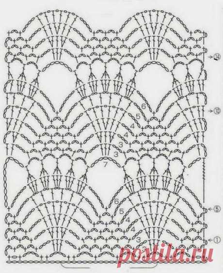 Patron para hacer un chaleco para dama a crochet (3)