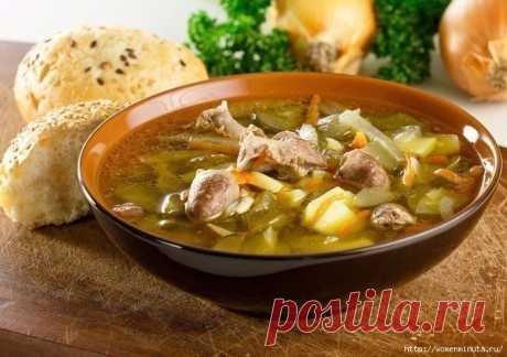 Подборка не сложных рецептов домашних супов на любой вкус.