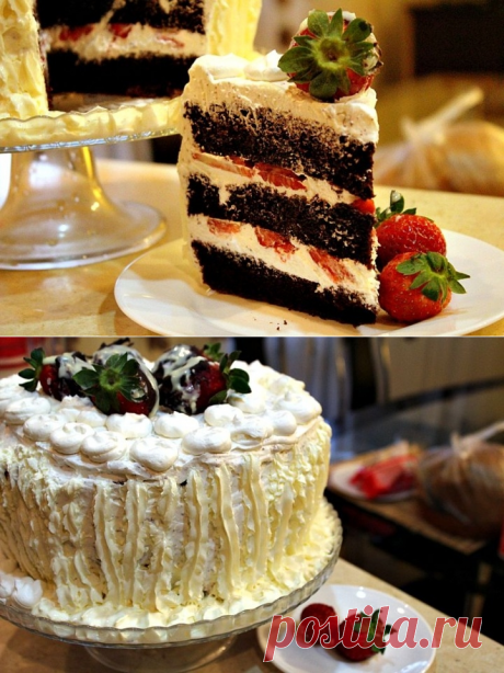 Chocolate chiffon cake - the recipe - how to prepare - ingredients, structure, a preparation time - the Lady of Mail.Ru