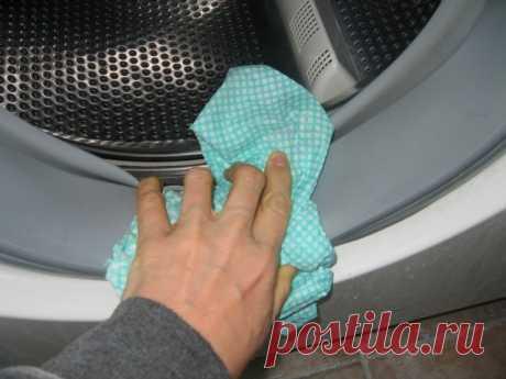 Как очистить стиральную машину от плесени — Полезные советы